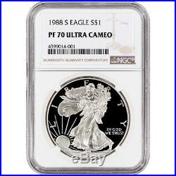 1988-S American Silver Eagle Proof NGC PF70 UCAM