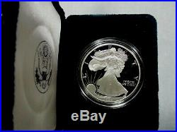 1994-P 1 oz Proof Silver American Eagle (withBox & CoA) Coin #1347