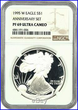 1995-W Silver Eagle $1 NGC Proof 69 UCAM The Key to the Series