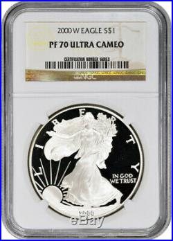 2000-P American Silver Eagle Proof NGC PF70 UCAM