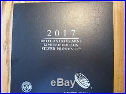 2017-S US Mint Limited Edition Silver Proof 8 Coin Set with American Eagle