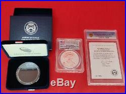 2019 S $1 Enhanced Reverse Proof PCGS PR69 First Strike Silver Eagle Coin #16084