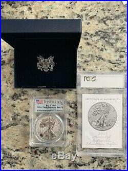 2019 S American Silver Eagle Enhanced Reverse Proof Coin PCGS PR69 First Strike