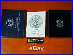 2019 S ENHANCED REVERSE PROOF SILVER EAGLE NGC PF69 EARLY RELEASE TROLLEY With OGP