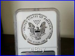 2019 W Enhanced Rev Proof Silver Eagle NGC PF 70 ER (From Pride Two Nations Set)